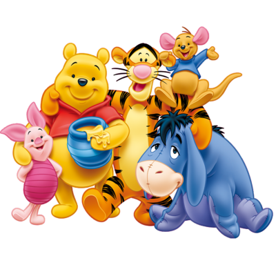 Winnie-Pooh-family-drawing